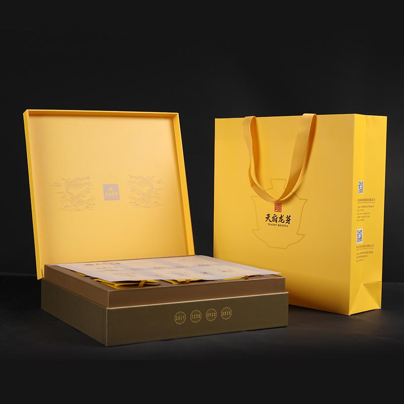 天府龙芽 早春头采龙芽雀舌绿茶(尊龙)经典礼盒 138g