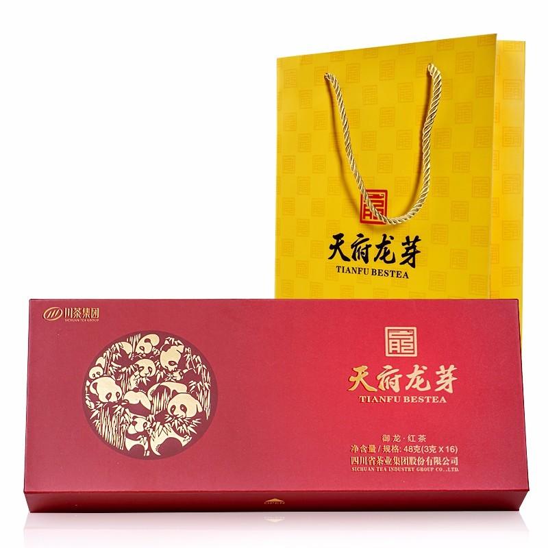 天府龙芽 四川特级工夫红茶(御龙)礼盒装48g
