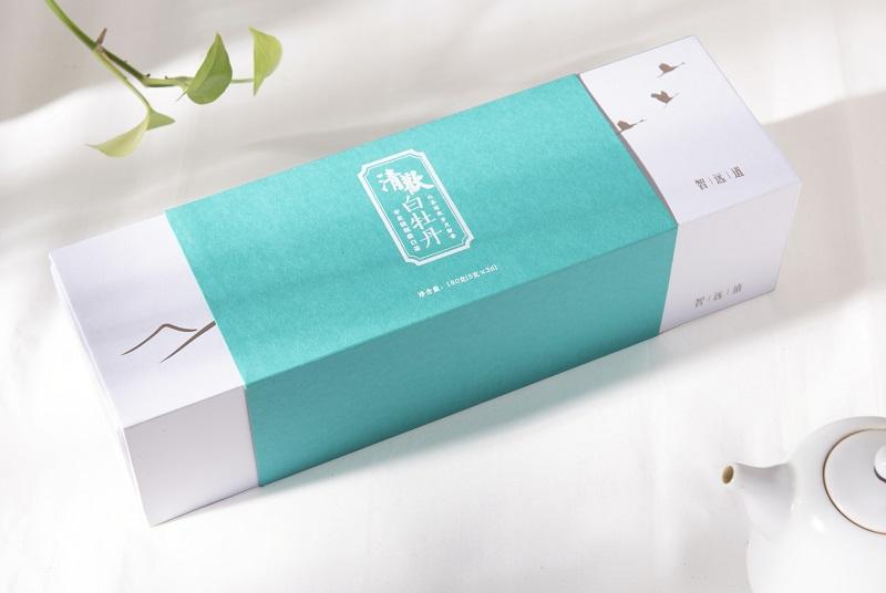 福鼎白茶2017年春牡丹一芽一二叶 单片独立包装便携 礼盒装180g